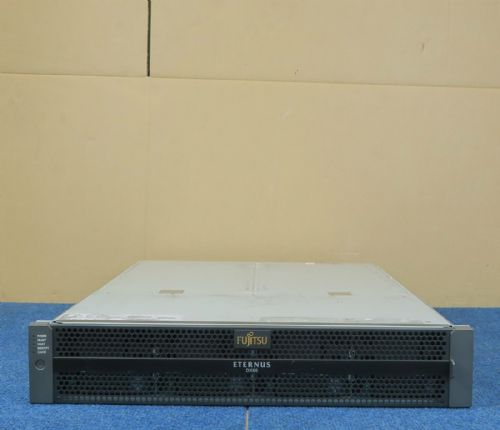 Fujitsu Eternus DX60 Base 12 Bay SAS 4 x 300GB 15K Storage System 2x Controllers